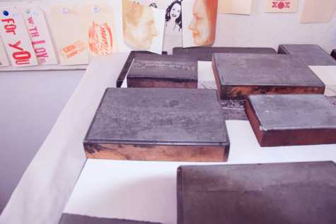 Original zinc printing blocks from the 1920s have yielded their secrets for the 'Leichhardt Jubilee Pressed' exhibition