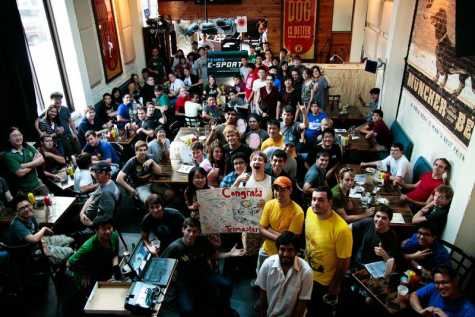 A Barcraft event in Austin, Texas