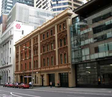 Neighbouring buildings to Bathurst House.