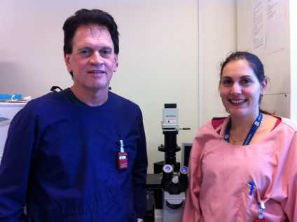 Researchers: Professor Des Richardson and Dr Zaklina Kovacevic. Photo: Ruby Prosser
