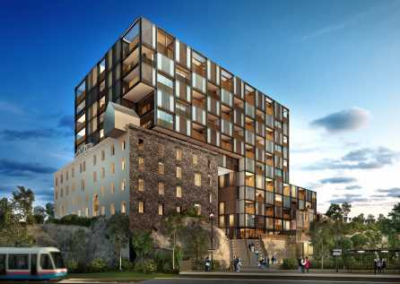 Grishaw Architect's winning design for the former Pyrmont Flour Mill site.