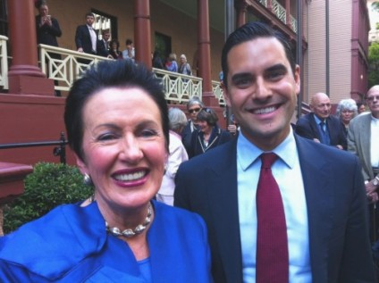 Clover Moore and Alex Greenwich