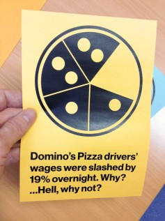 dominoes protest