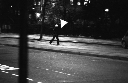 Windwalk - Five walks from Charing Cross, 2008,  courtesy and © the artist