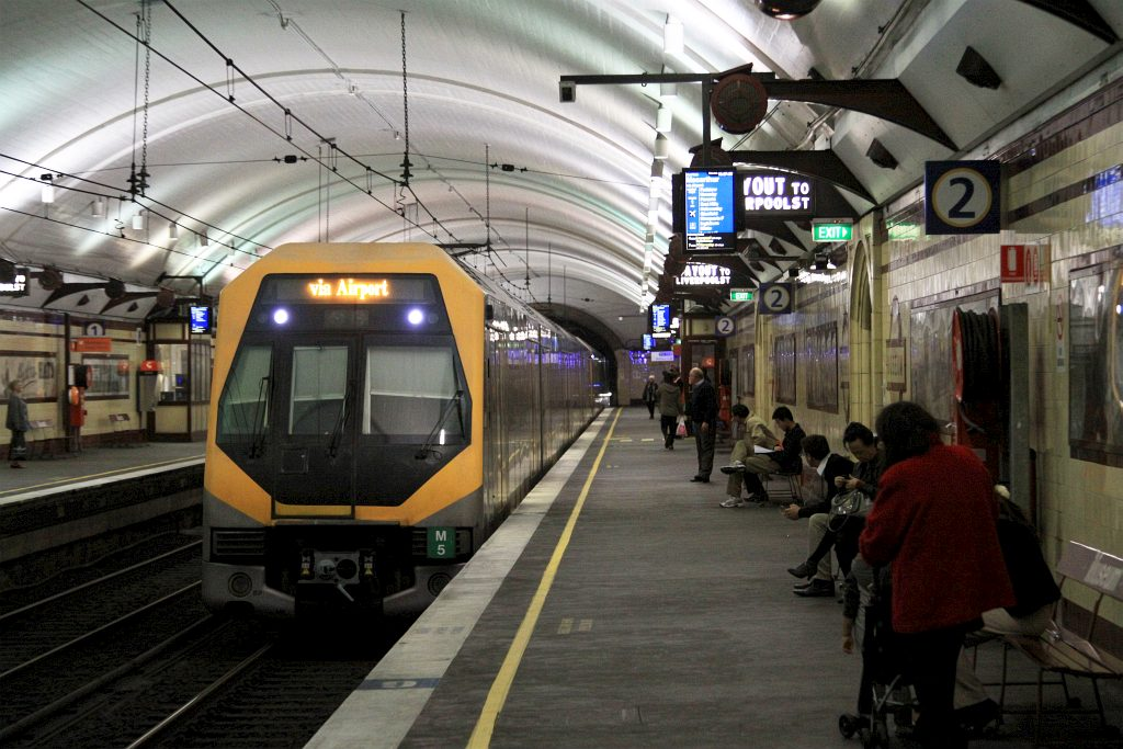 how to get from newcastle to sydney by train