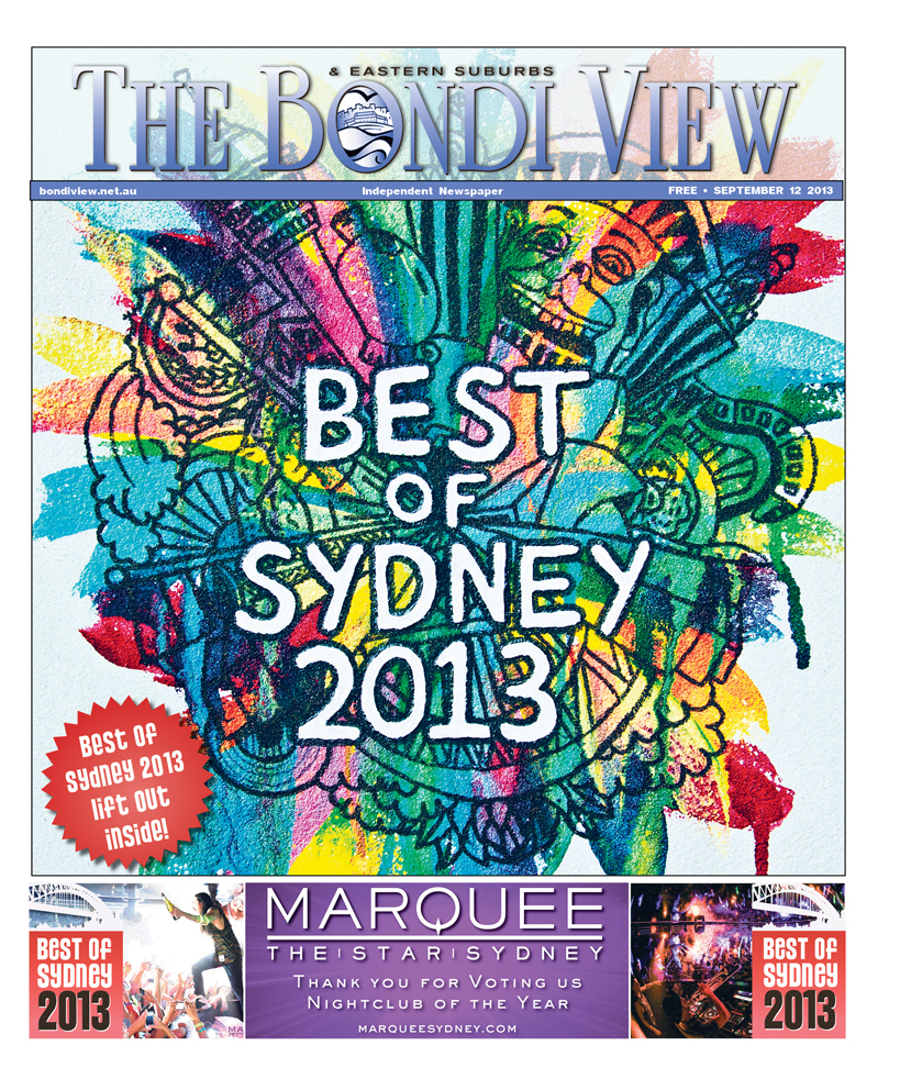 Bondi View cover September 12
