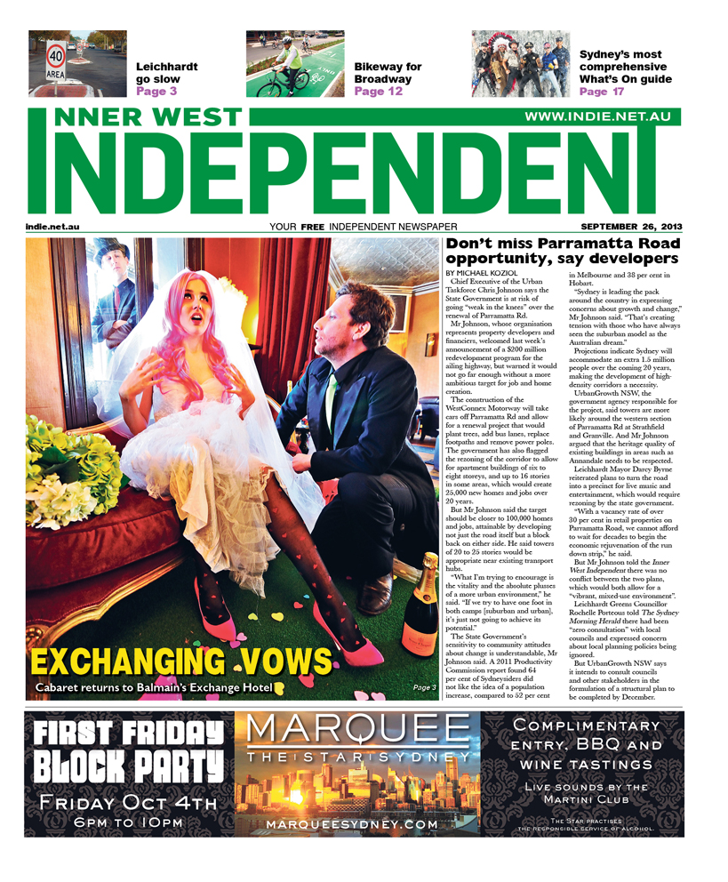 The Independent cover September 26
