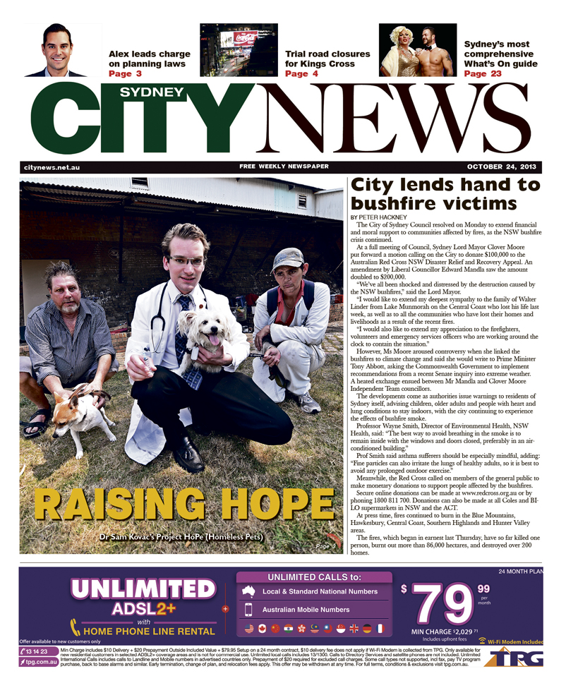 City News cover October 24