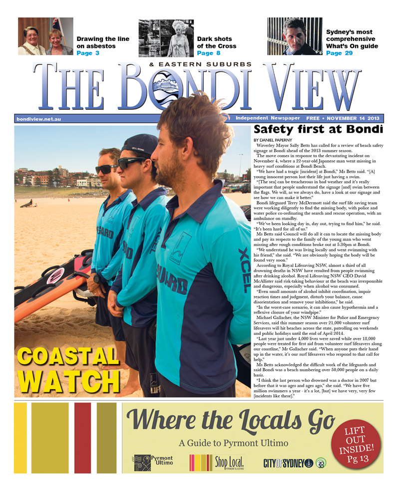 Bondi View cover November 14