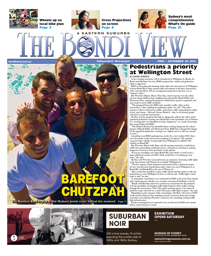 Bondi View cover November 28