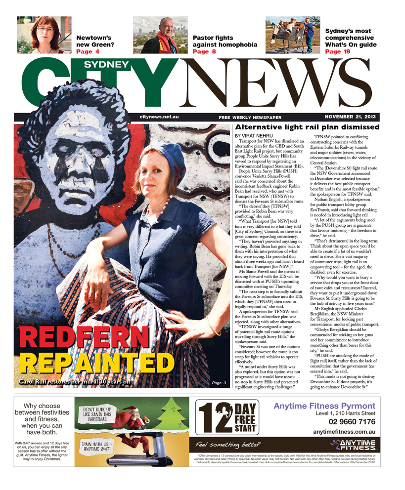 City news cover November 21