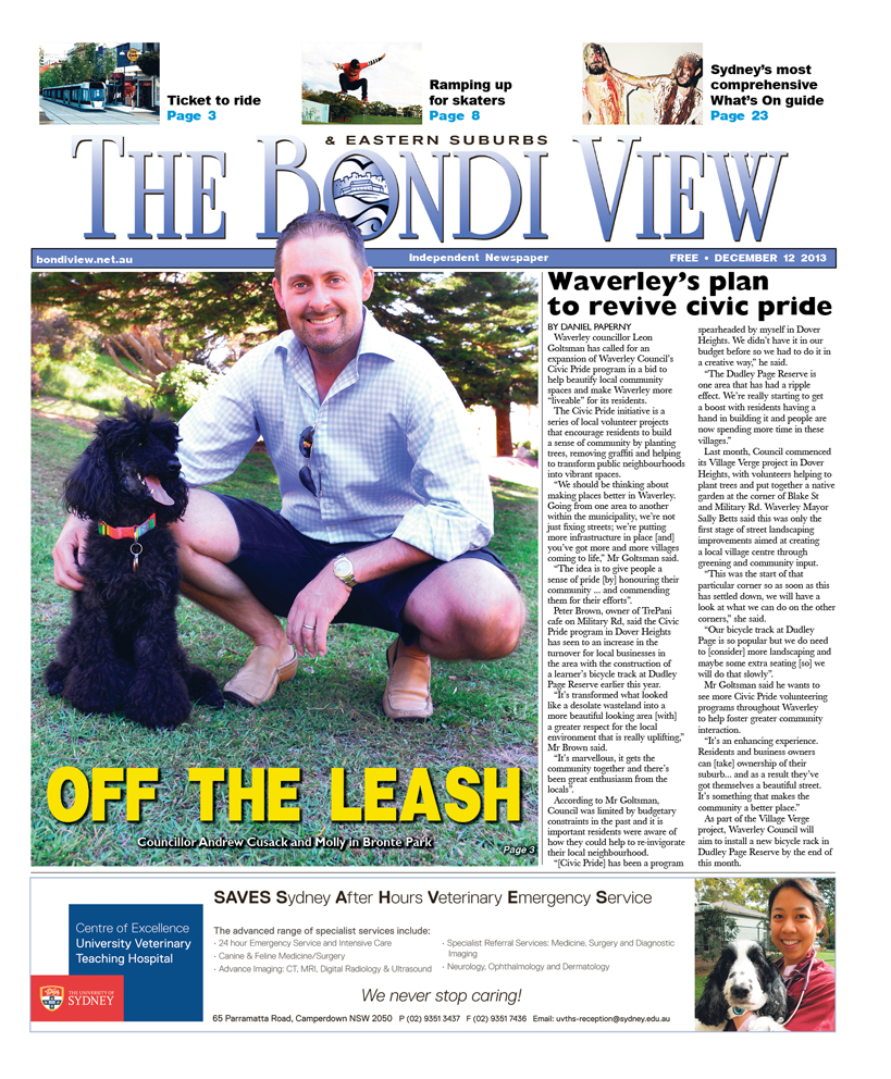 Bondi View cover December 12