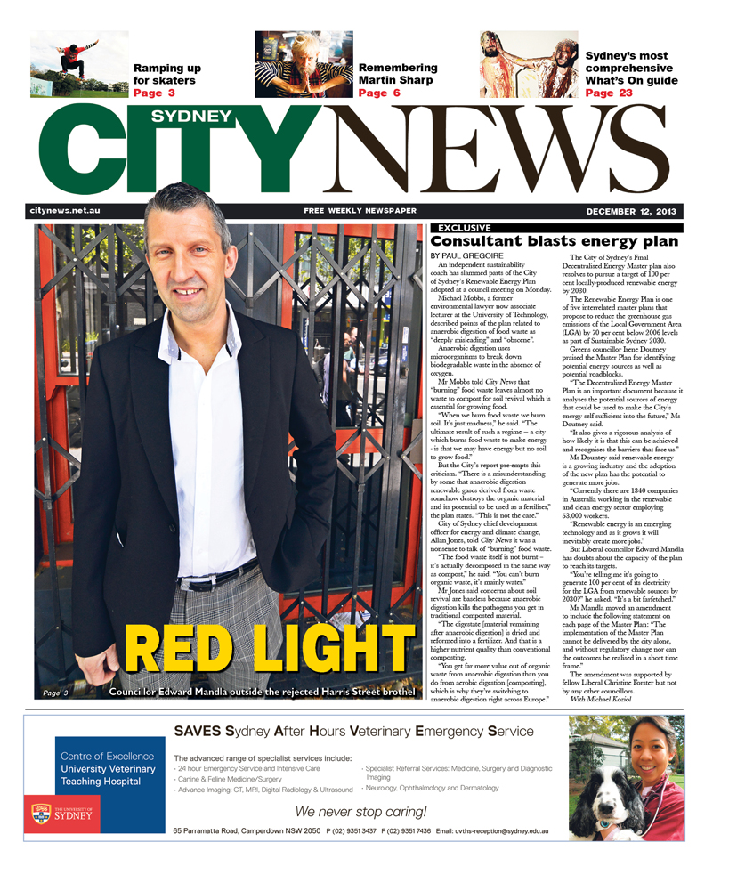 City News cover December 12