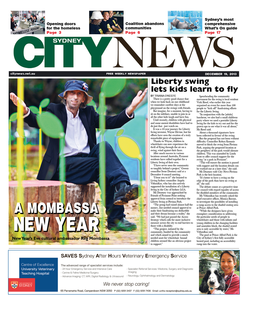 City News cover December 19