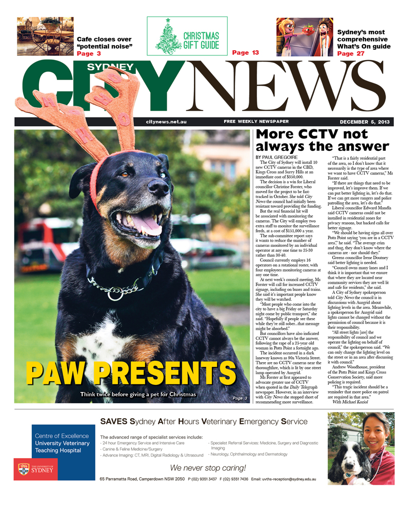 City News cover December 5