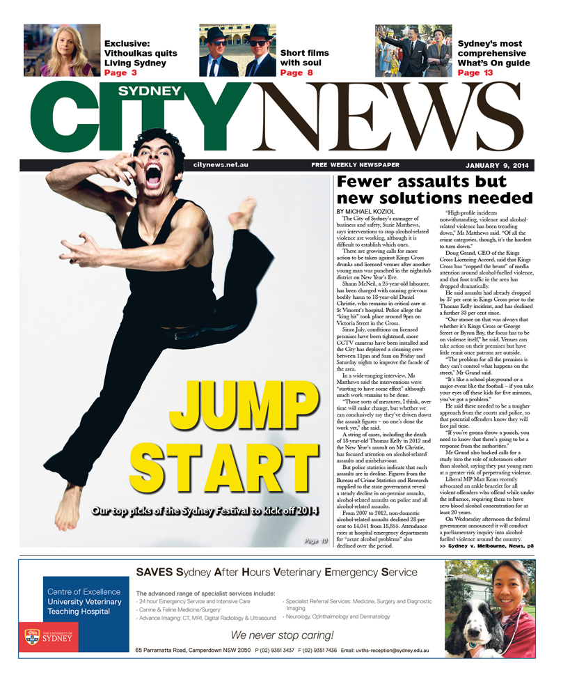 City News cover January 9