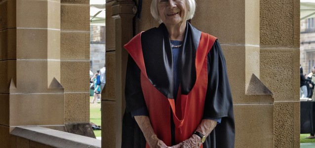 After a whirlwind career in television and politics, 93-year-old Dr Lis Kirkby is Australia's oldest graduate.