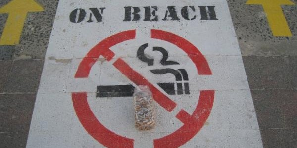 Waverley Council steps up measures to ban smoking. Photo: Responsible Runners.