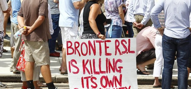 Bronte RSL social club members have been left in the dark over the clubs decision making processes.