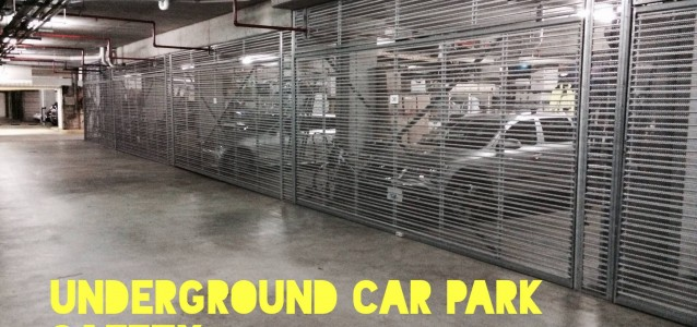 Unsecured garages in underground car parks in Leichhardt district are easy targets for thieves. Photo: Senior Constable Jeremy Constable/Facebook