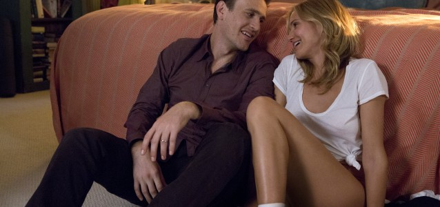 Jay (Jason Segel) and Annie (Cameron Diaz) in Columbia Pictures' SEX TAPE.