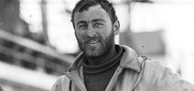 The young Charles Laseron as a member of Mawson's South Polar expedition (Mitchell Library).
