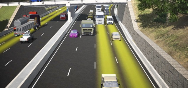 An artist's impression of the WestConnex tollway. Photo: westconnex.com.au