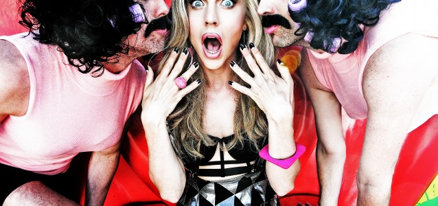 Chris Peken - Courtney Act and the Freddie Mercury's