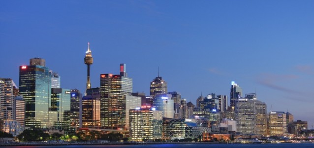 Sydney's skyline at dusk. Source: wikipedia.commons