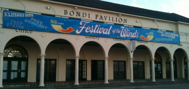 The Bondi Pavillion that Clr Strewe could be a civic centre. Source: facebook.com