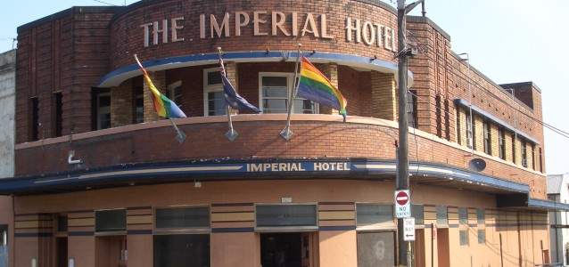 The Imperial Hotel in Erksineville