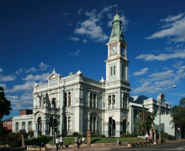 Leichhardt Town Hall. Source: Wikipedia.commons