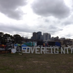 Tent embassy remains under threat