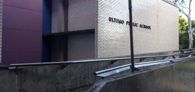 The current Ultimo Public School site. Source:Lydia Watson-Moore