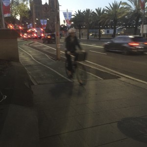 Riding into a storm: Sydney cyclists face politics on two fronts
