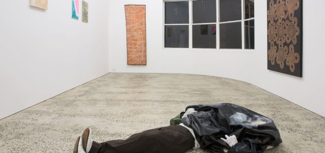 'Casual Conversation, Verging on Harassment', installation view.