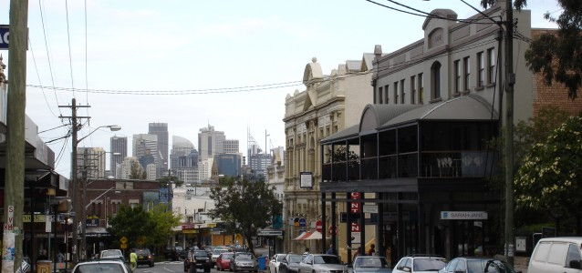 Balmain's Darling Street is set to get a boost. Source: Amitch at English Wikipedia