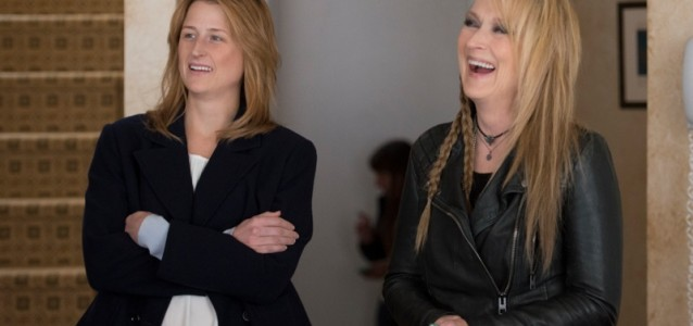 Real-life daughter and mother, Mamie Gummer and Meryl Streep in Ricki and The Flash