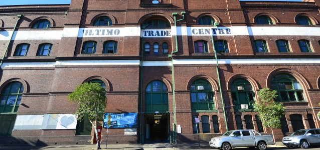 Ultimo Trade Centre Ultimo . Source Wikicommons