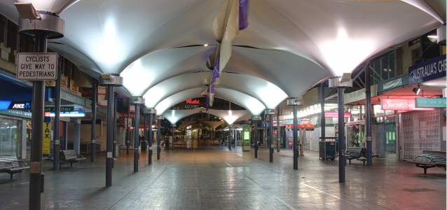 Oxford Street Mall in Bondi Junction. Source: Wikicommons.