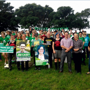 The Greens Kick off Campaign