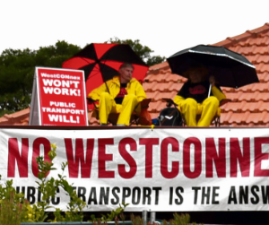 Two to be charged following WestConnex protest