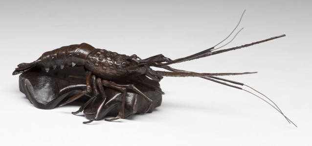 Japanese bronze articulated lobster Meiji Period, c. 1900.