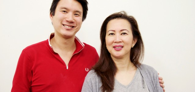 William Le and Sophie To. Photo: William Yang