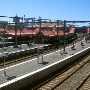 Redfern Station railroaded